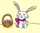 sad easter bunny 2